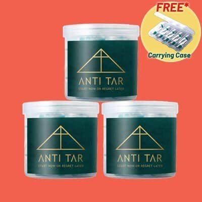 antitar cigarette filter bundle 3