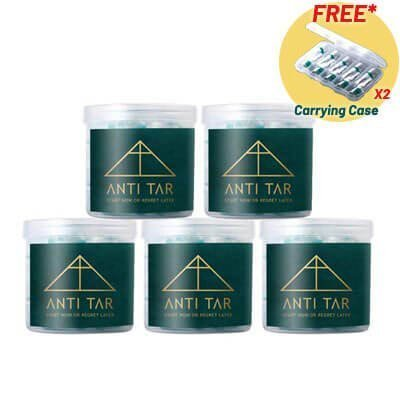 antitar cigarette filter bundle 5