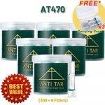 ANTI TAR™ AT470 Cigarette Filter Triple Tar Filtration Joint Tips Holder - AT470 Bundle 6 Boxes