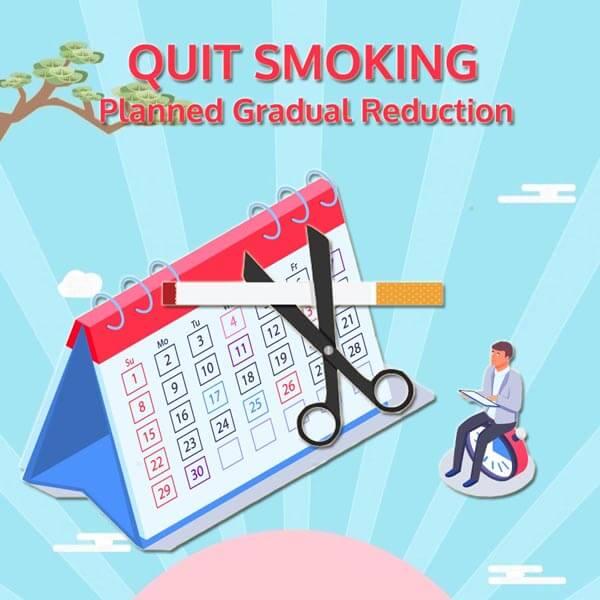 quit smoking gradually