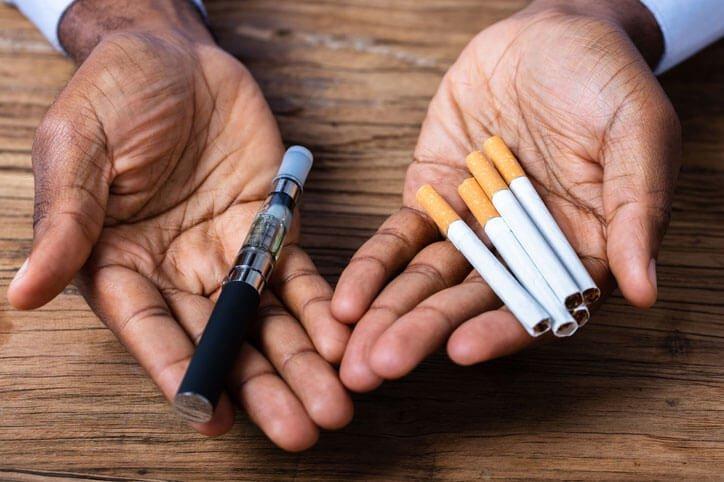 vape better than smoking cigarette?