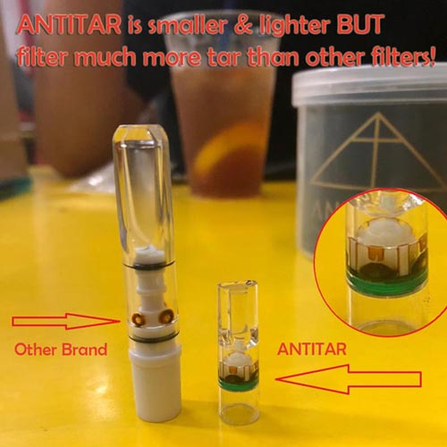 antitar vs other filters