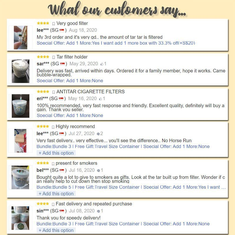 ANTITAR reviews